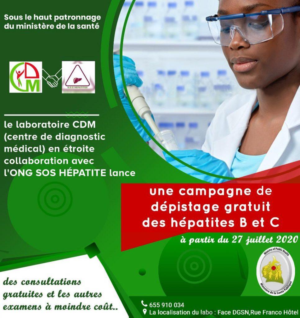 Campagne hépatites B et C 2020